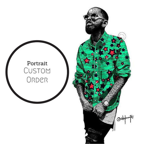 Custom Design by TBJ : Portrait