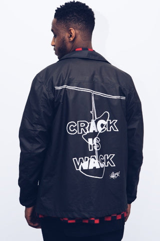 WAFFLESNCREAM: Crack is Wack Coach Jacket