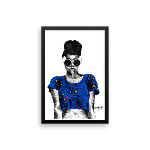 TBJ: Rebel Heart III - Framed Print