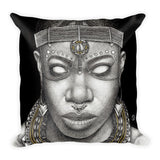 DATA OH: Atete - Throw Pillow