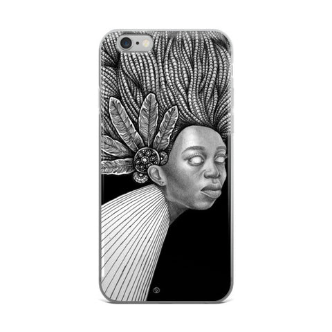 DATA OH: Braids - iPhone case
