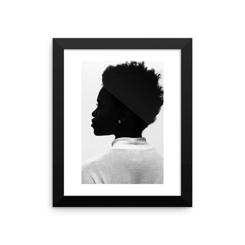 Opposition III - Framed Print