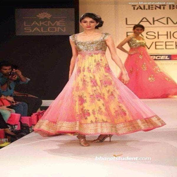 The top 10 trends for Indian Fashion 2016- No.1 - Anarkalis and Floral prints