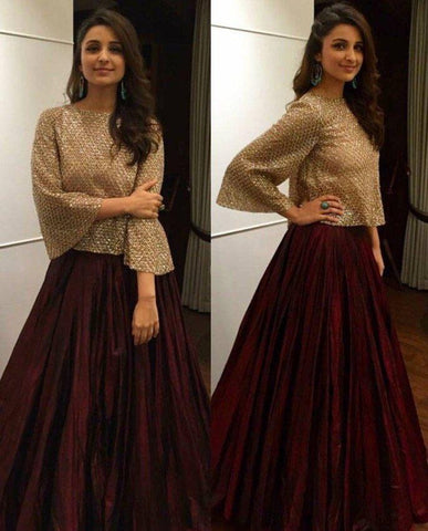 3c1fd4dce1 ... Trends for Indian Fashion -2018. 1. Indowestern Dresses