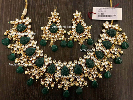 Beautiful Polki Wedding Set