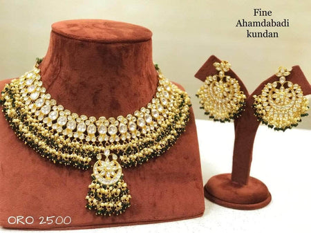 Designer Polki Wedding Set