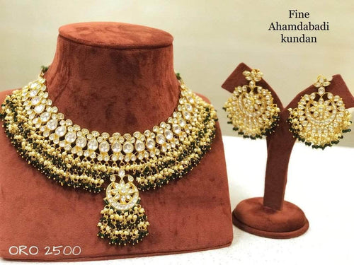 Beautifully Crafted Kundan Jewlery in - Jewelry - FashionVibes
