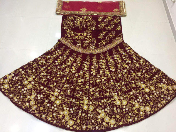 Deepjyothi Creation's Bridal Lehenga in - Lehenga - FashionVibes