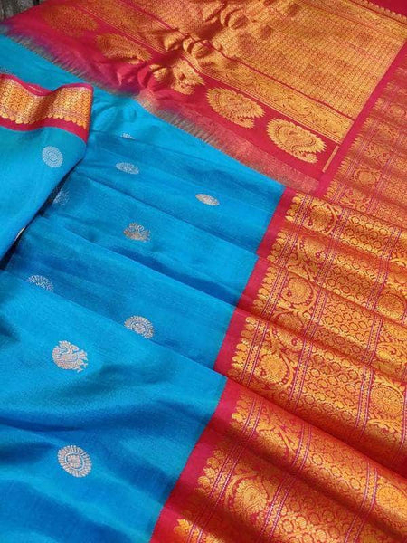 Designer Satin Silk Saree