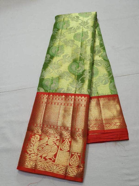 Designer Kanjivaram Silk Saree in - Saree - FashionVibes