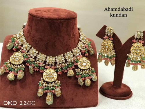Designer Kundan Jewlery in - Jewelry - FashionVibes