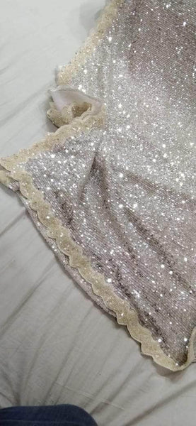 Designer Sequin Saree in - Saree - FashionVibes
