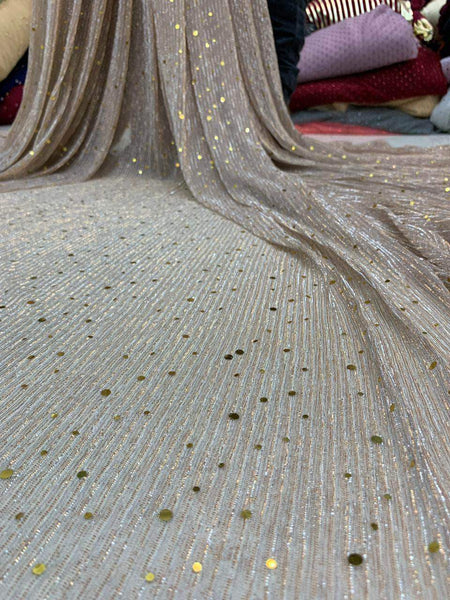 Designer Shimmery Lycra Evening Gown in - Gowns - FashionVibes