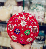 Hand embroidered Luxury Clutch from Fashion Vibes in - - FashionVibes