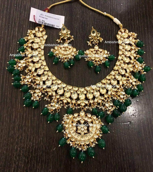 High quality Kundan Jewlery Set in - Jewelry - FashionVibes