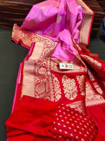 Exclusive Banarasi Khaddi Chiffon Georgette Silk Saree