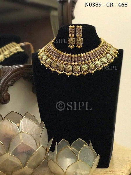 Premium Quality Hand Finished Kundan Meena Jwelery Set in - Jewelry - FashionVibes