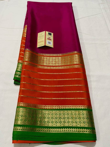 Pure South Silk Sarees in - Saree - FashionVibes