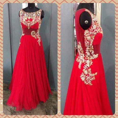 Wedding Anarkali in - Custom Salwar suit and Lehenga - FashionVibes