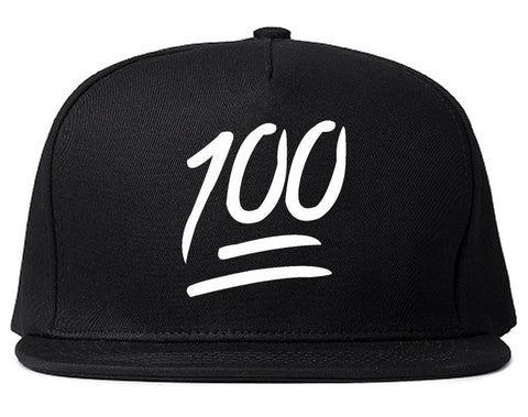 100 Emoji Snapback Hat by Very Nice Clothing