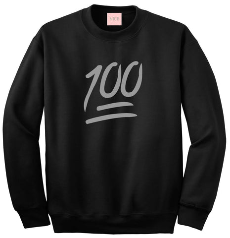 100 Emoji Sweatshirt by Very Nice Clothing