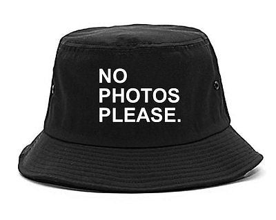 Very Nice No Photoes Please Blogger Bucket Hat