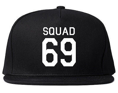 Very Nice Squad 69 Team Jersey Snapback Hat
