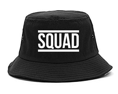 Very Nice Squad Crew Blogger Black Bucket Hat