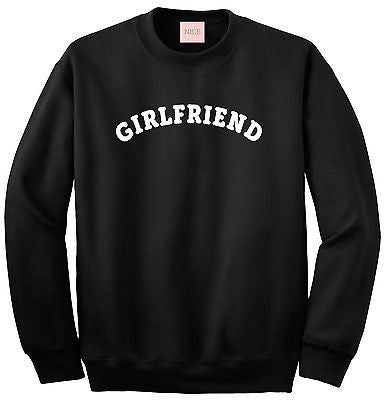 Very Nice Girlfriend Gf Bff Boyfriend Crewneck Sweatshirt