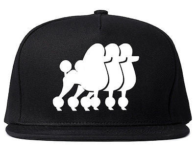 Very Nice Poodle Cute Puppies Dogs Snapback Hat
