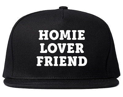 Very Nice Homie Lover Friend Black Snapback Hat