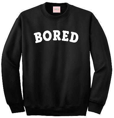 Very Nice Bored Lazy Boyfriend Crewneck Sweatshirt