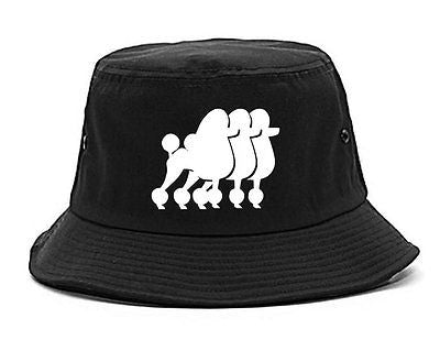 Very Nice Poodle Cute Puppies Dogs Bucket Hat