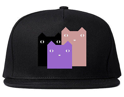 Very Nice Colorful Cute Cats Kitten Kitty Snapback Hat
