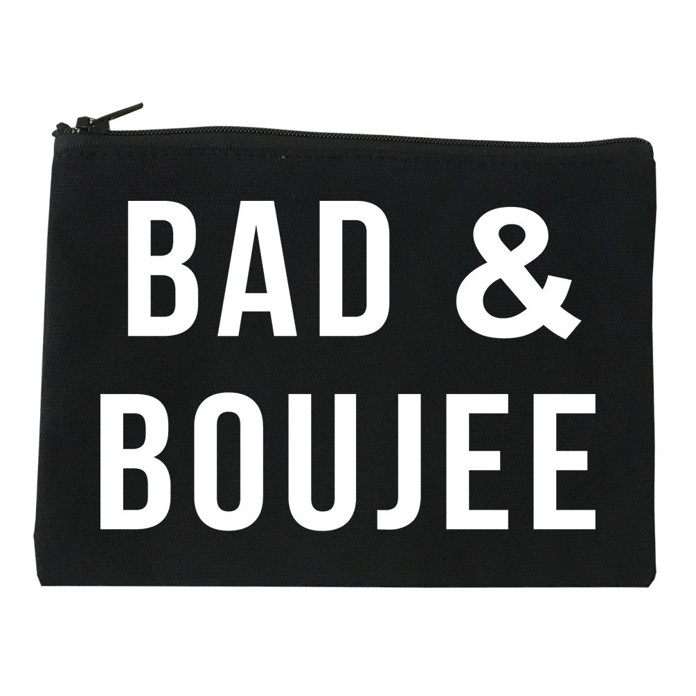 Bad And Boujee Cosmetic Makeup Bag by Very Nice Clothing