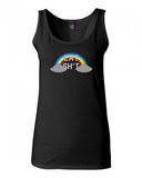 Eat Shit Rainbow Tank Top by Very Nice Clothing