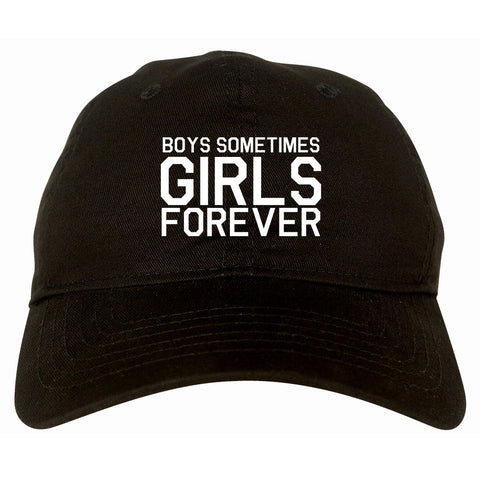 Girls Forever Dad Hat by Very Nice Clothing