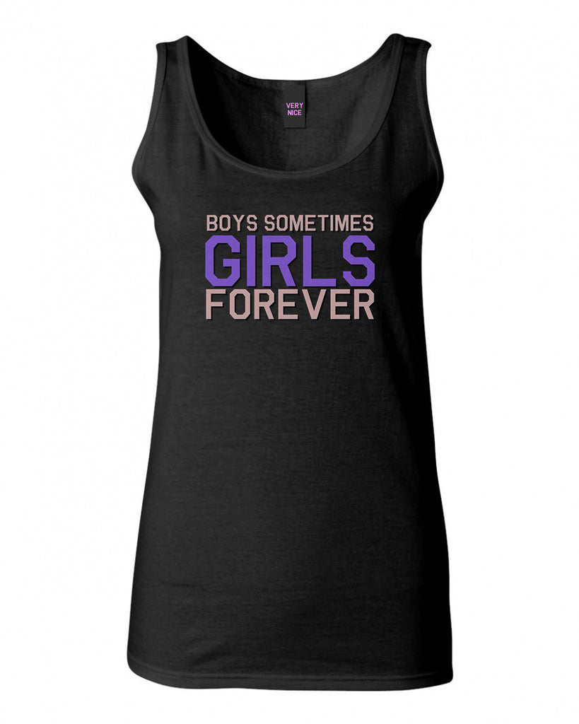 Girls Forever Tank Top by Very Nice Clothing