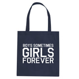 Girls Forever Tote Bag by Very Nice Clothing