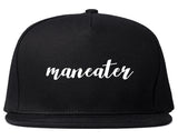 Maneater Snapback Hat by Very Nice Clothing