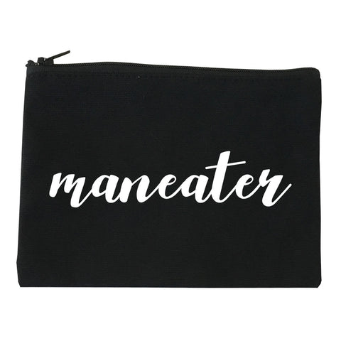 Maneater Cosmetic Makeup Bag by Very Nice Clothing