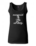 Mermaid On Duty Tank Top by Very Nice Clothing