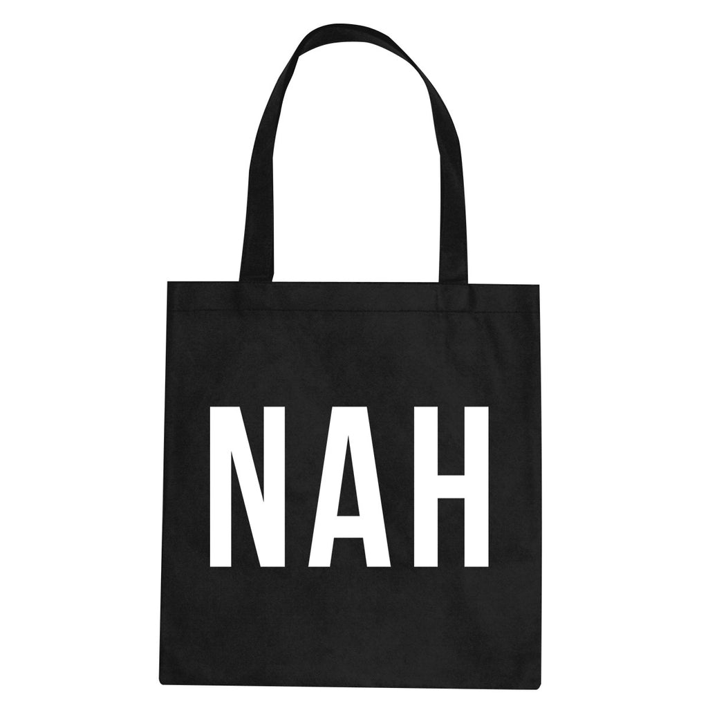 Nah 3D Tote Bag by Very Nice Clothing