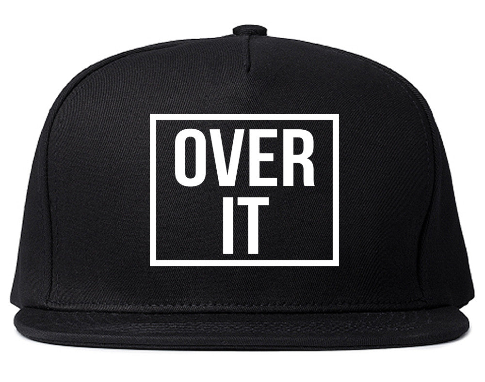 Over It Snapback Hat by Very Nice Clothing
