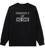 Property Of No One Crewneck Sweatshirt by Very Nice Clothing