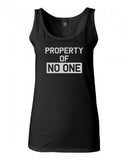 Property Of No One Tank Top by Very Nice Clothing