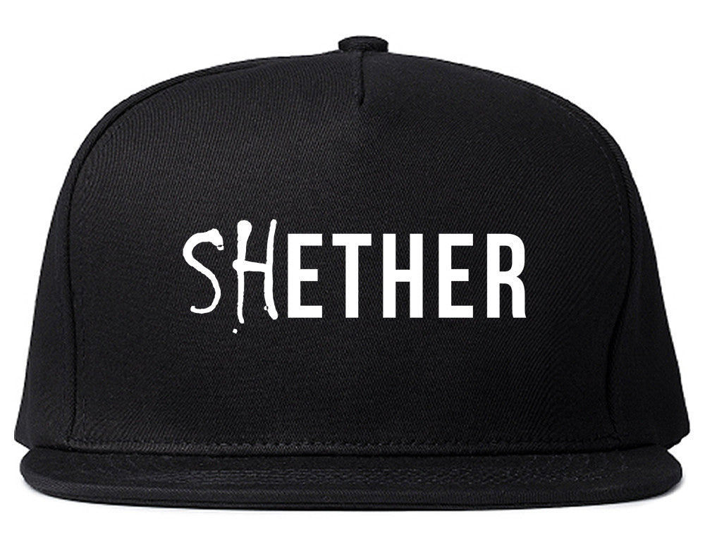 Shether Diss Snapback Hat by Very Nice Clothing