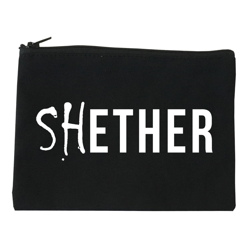 Shether Diss Cosmetic Makeup Bag by Very Nice Clothing