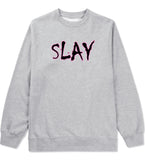 Slay Pink Crewneck Sweatshirt by Very Nice Clothing