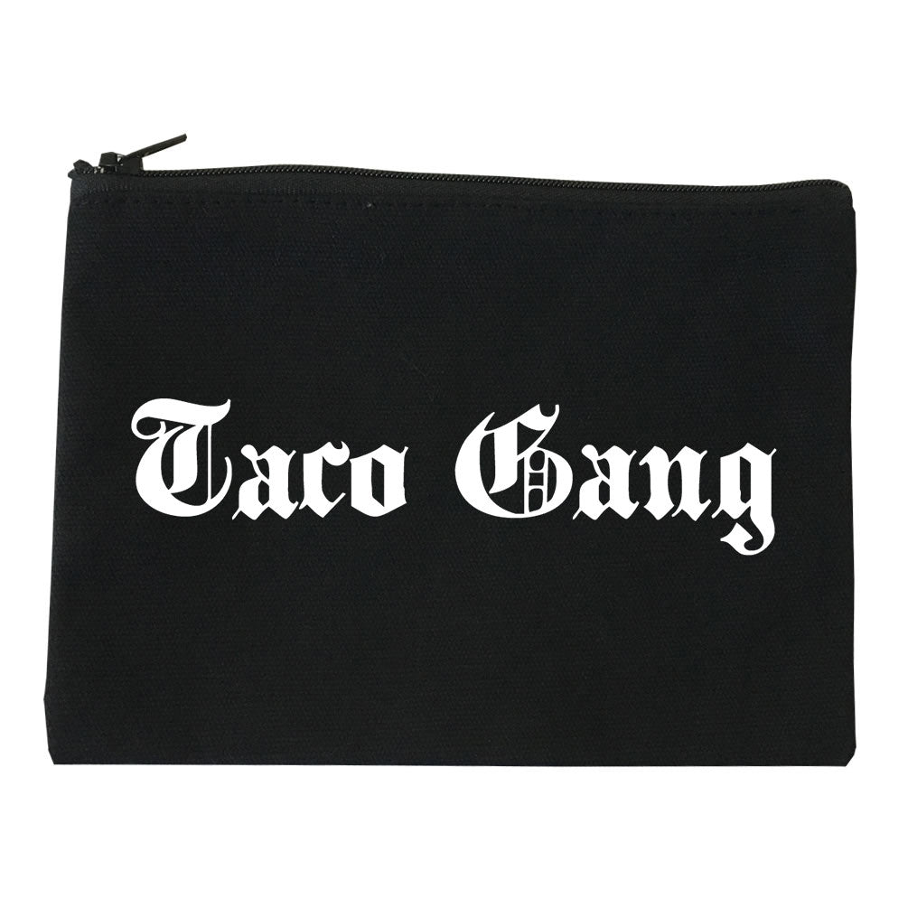 Taco Gang Cosmetic Makeup Bag by Very Nice Clothing